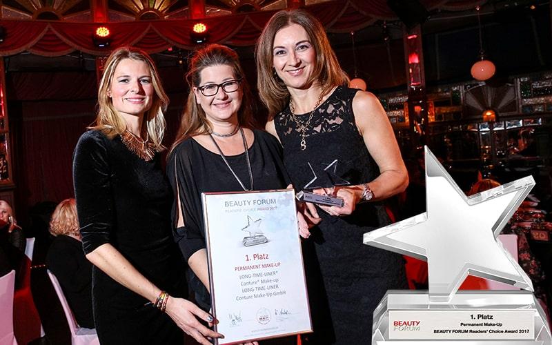 LONG TIME LINER & Readers' Choice Award 2017!
