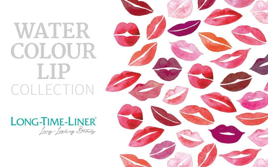 Neu! Watercolour Lip Collection Permanent Make up Lippenfarben