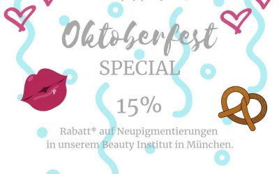 OKTOBERFEST SPECIAL Permanent Make Up NEUPIGMENTIERUNG