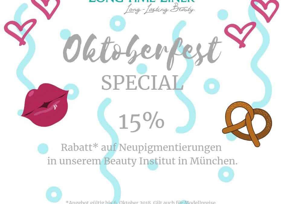 OKTOBERFEST SPECIAL Permanent Make Up NEUPIGMENTIERUNG