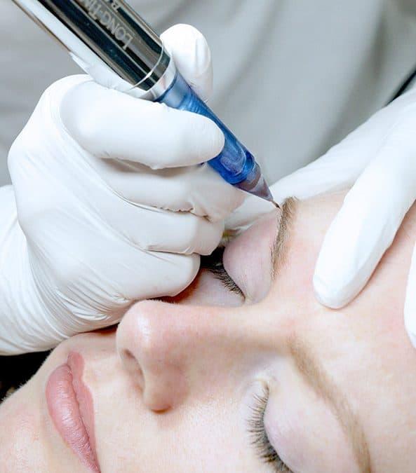 Permanent Make Up Augenbrauen Unterschied Microblading und Microshading?