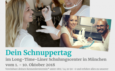 Dein Permanent Make Up Schnuppertraining bei Long-Time-Liner in München