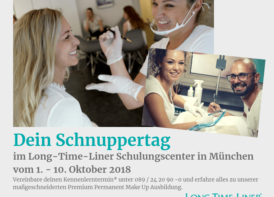 Dein Permanent Make Up Schnuppertraining bei Long-Time-Liner in München