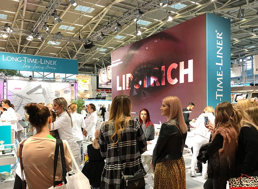 LONG-TIME-LINER® Permanent Make Up Techniques & trainings @ BEAUTY FORUM Munich 2018