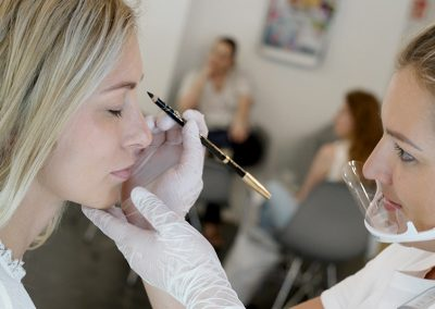 Permanent Make Up EYELINER pflegen