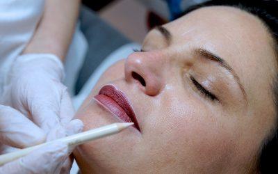 Permanent Make-up Lippenkorrektur