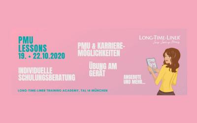 LONG-TIME-LINER® PMU LIVE Lessons Oktober 2020