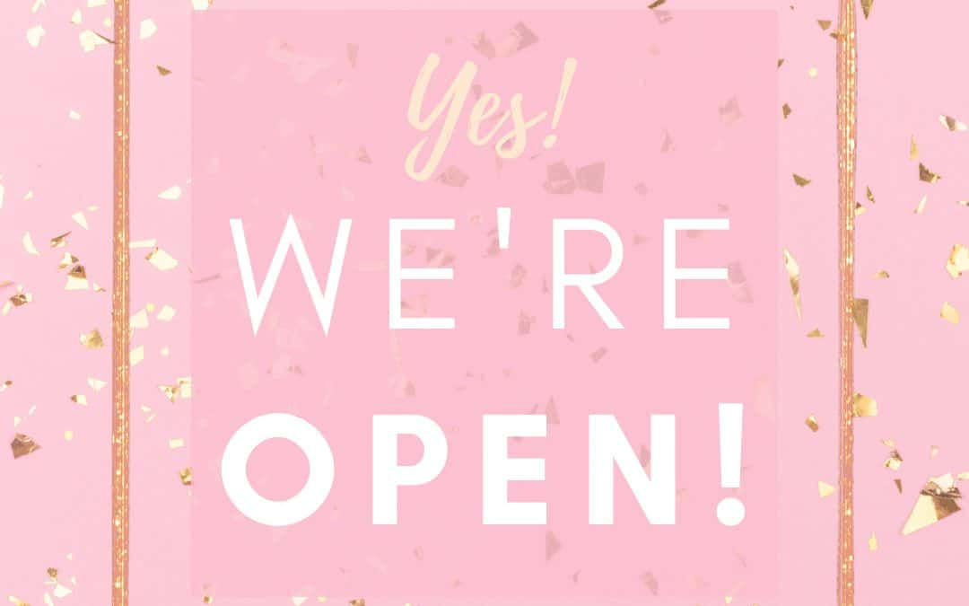 OUR TRAINING ACADEMY & OUR BEAUTY INSTITUTE IN MUNICH ARE OPEN AGAIN!