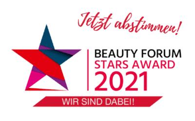 BEAUTY FORUM STARS AWARD 2021 – Jetzt Abstimmen!