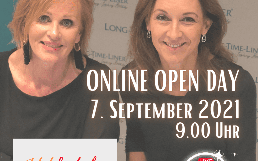 LONG-TIME-LINER® ONLINE OPEN DAY AM 7. SEPTEMBER 2021